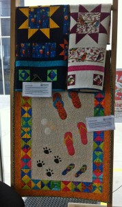 Quilt exhibition - Sandals in the Sand