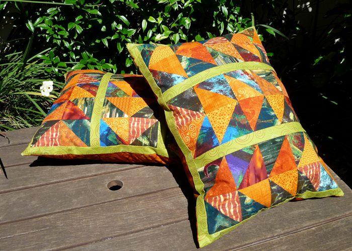 Flower Power pillows