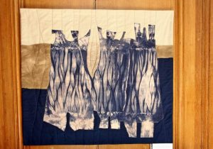Chilean quilter Ingrid Schaub uses impressive hand dyed fabrics for her quilts