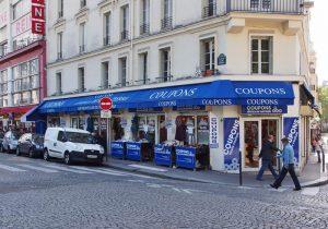Montmartre fabric shop