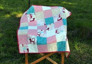 Baby quilt number 2