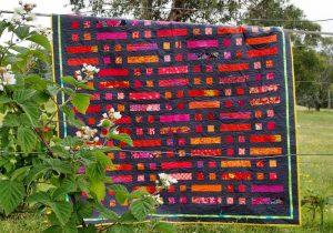 My Bushfire quilt pattern