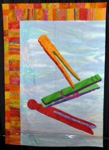 A peg inspired quilt