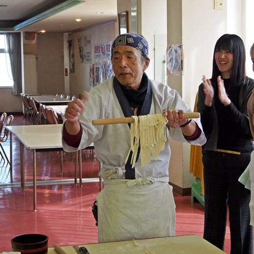 Udon noodle masterclass