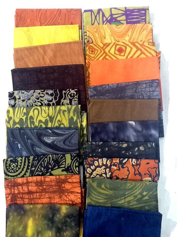 My next project using Turtle Hand batiks