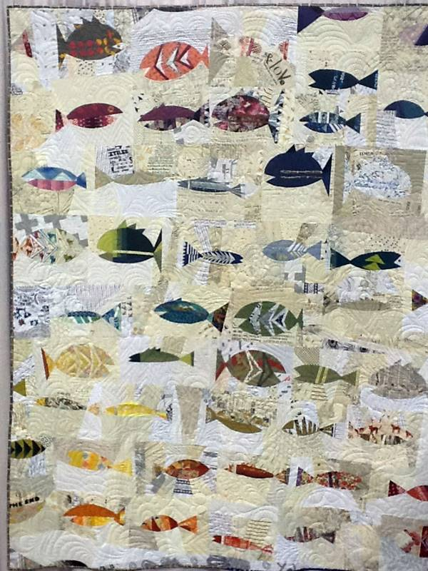 A fish theme quilt