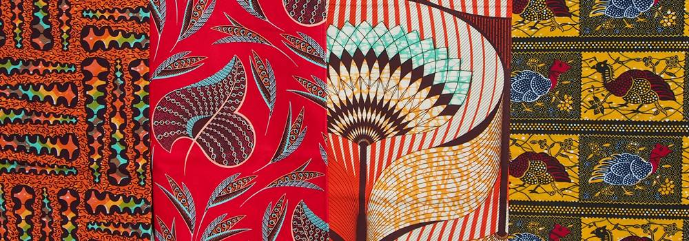 Example of modern African prints - great for quilters
