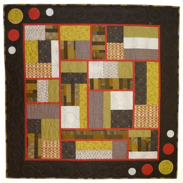 Building Blocks quilt is now finished
