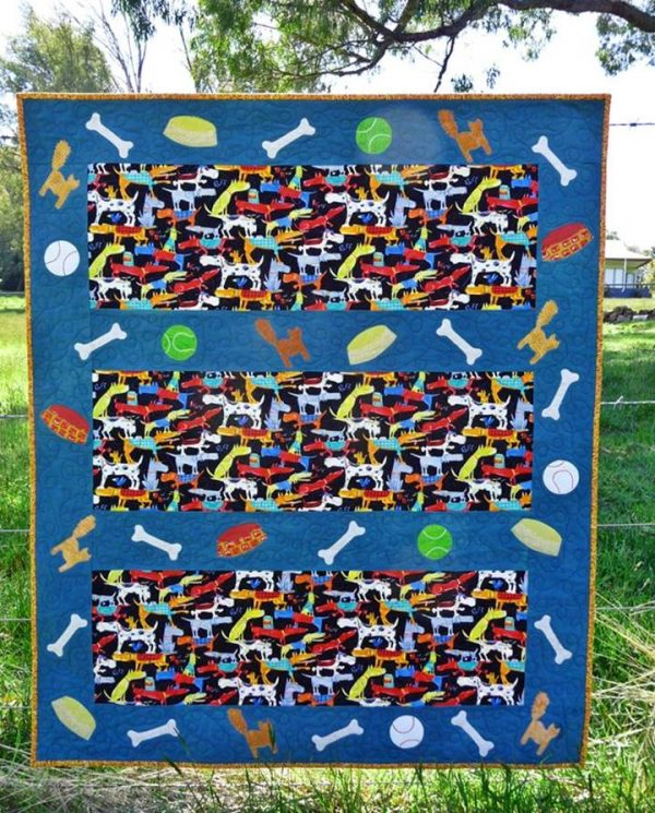 A Dogs Life quilt pattern