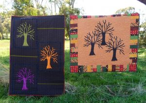 Enchanted Forest pattern produces two quilts