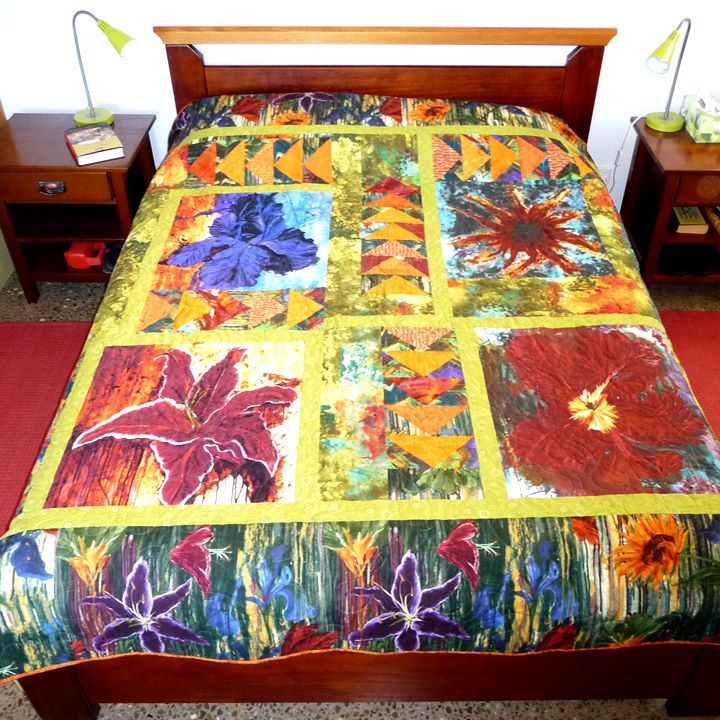 Flower Power Quilt Pattern Quilting Fabrications