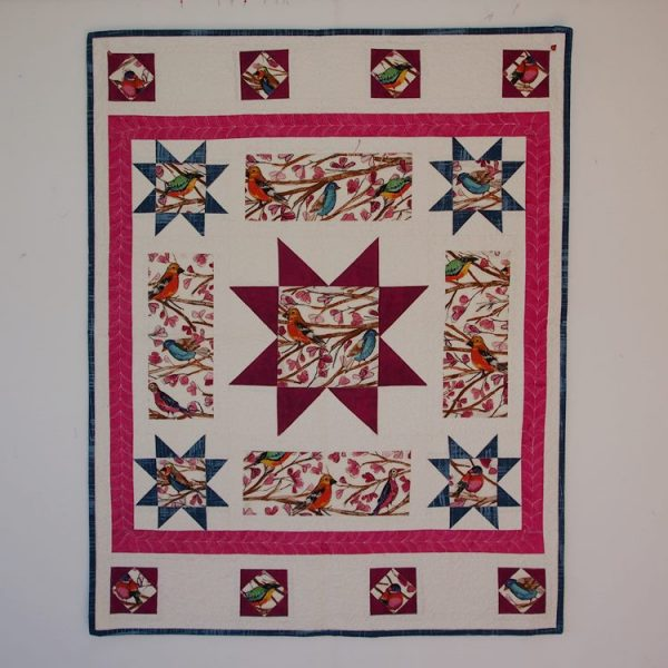 An alternate colorway for Peek a Boo quilt