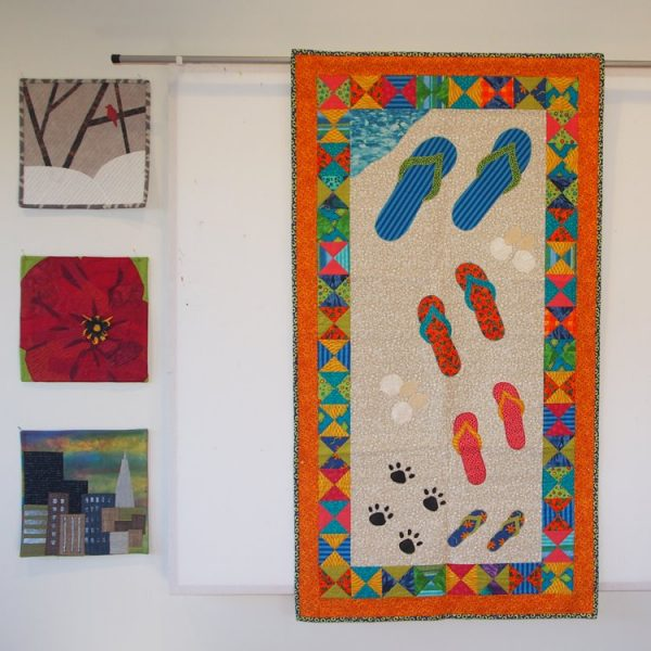 Sandals in the Sand quilt pattern