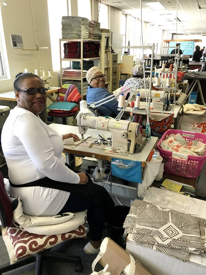 lovely sewing ladies