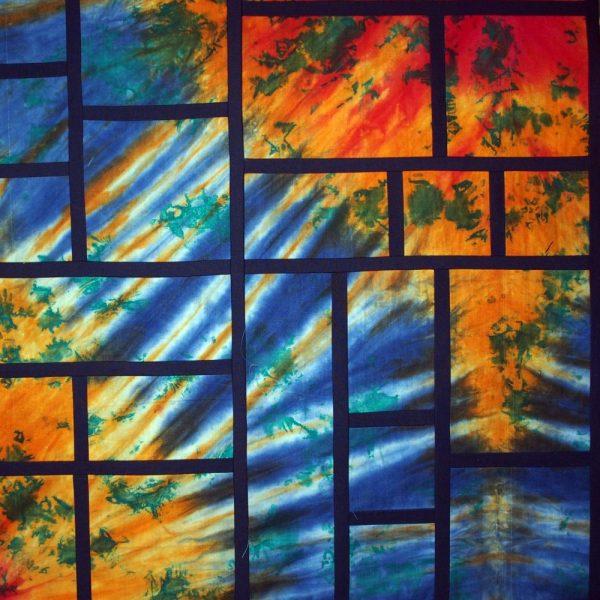 Close of my Framed quilt design