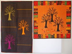 Enchanted Forest quilts