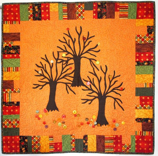 """Enchanted Forest """"positive"""" quilt"""