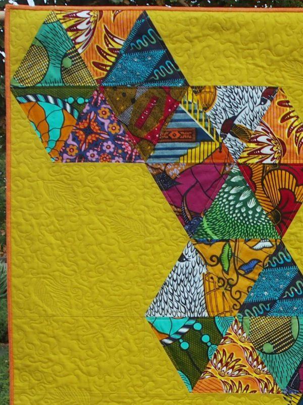 Odyssey quilt closeup