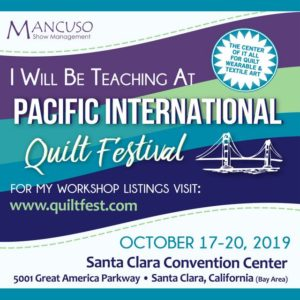 Leslie Edwards is teaching at PIQF 2019