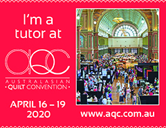 I'm teaching at 2020 AQC