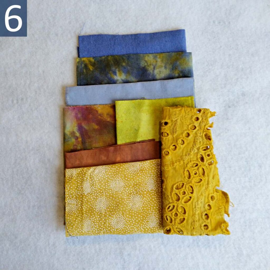 Blue Gold themed Inspiration Kit #6