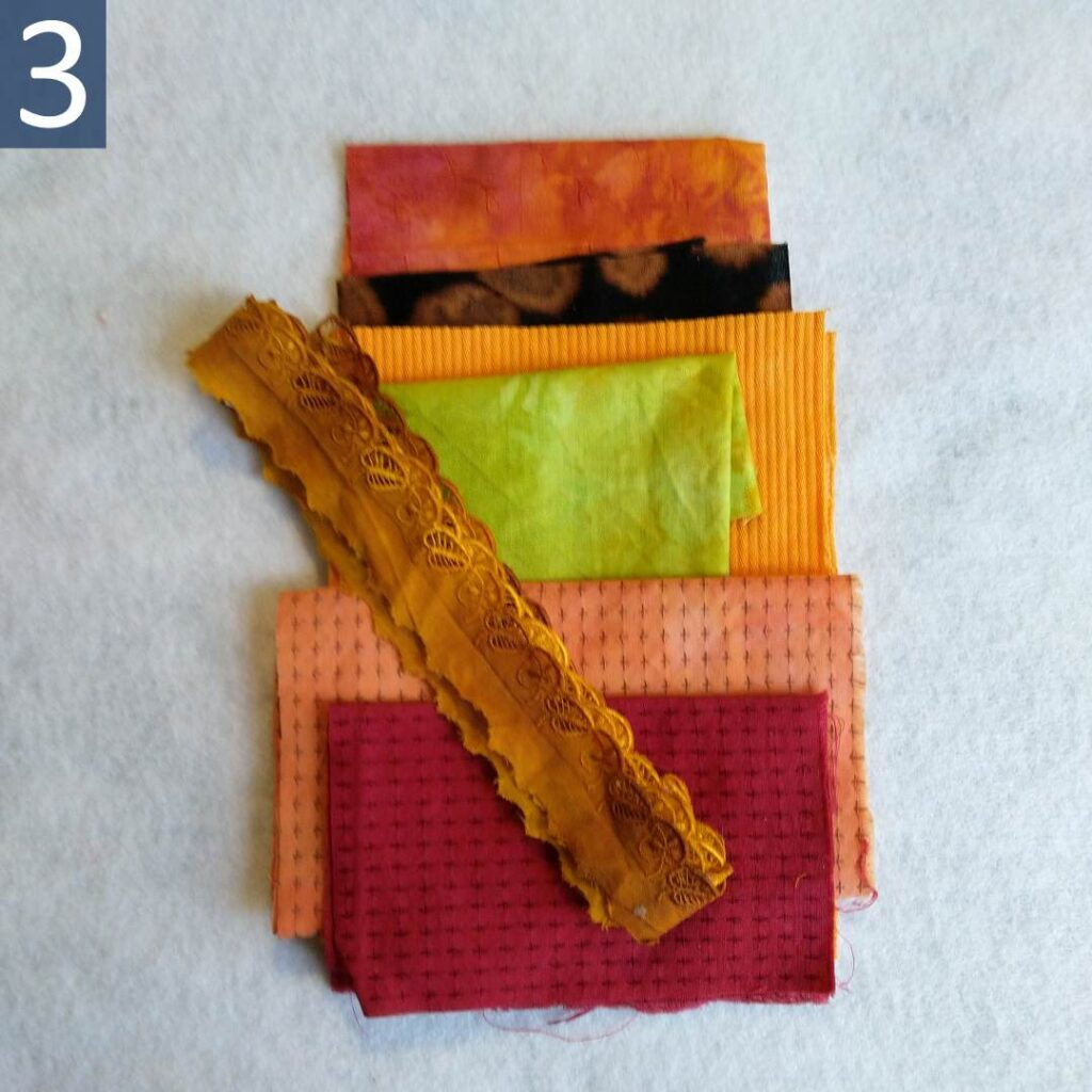 Orange Green themed Inspiration Kit #3