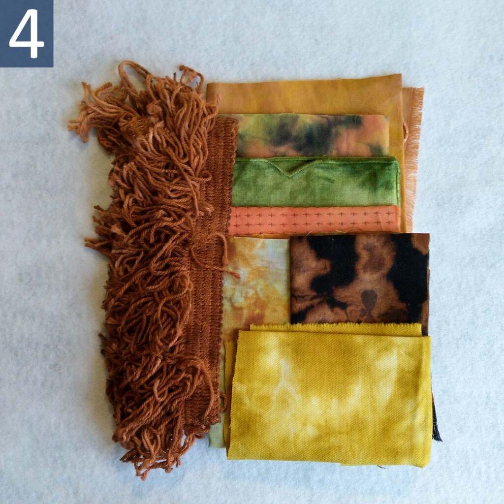 Rust Gold themed Inspiration Kit #4