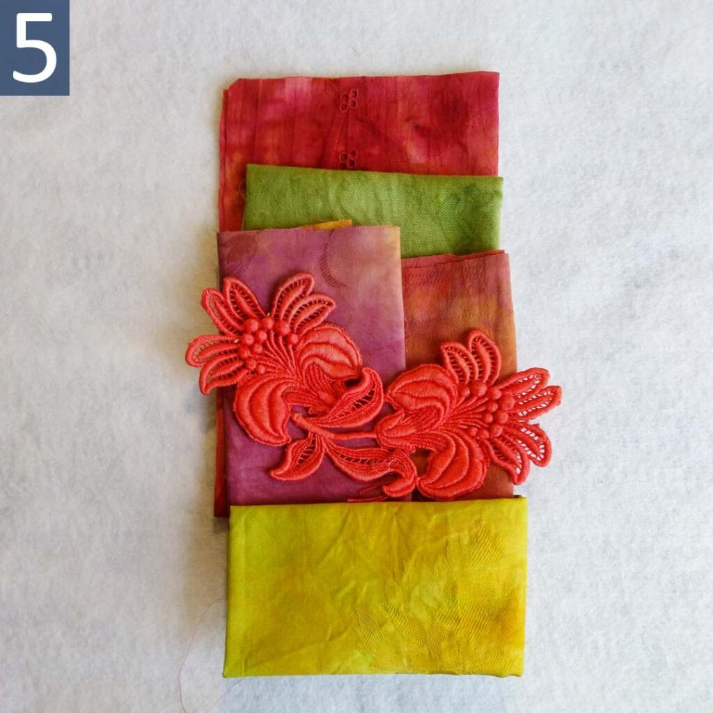Red Green themed Inspiration Kit #5